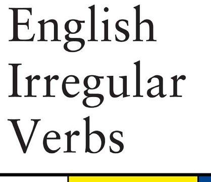 English Irregular