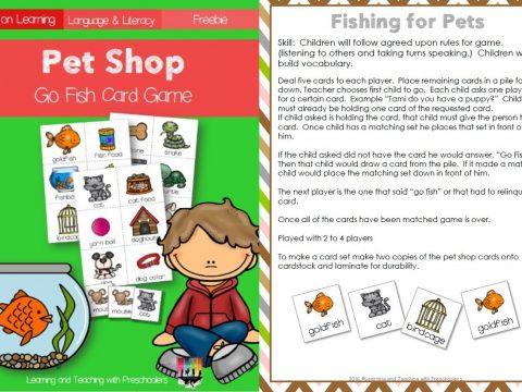 Pet Shop Card Game
