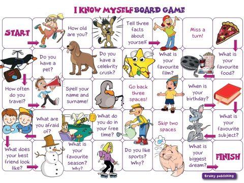 I know myself Board Game by Brainy