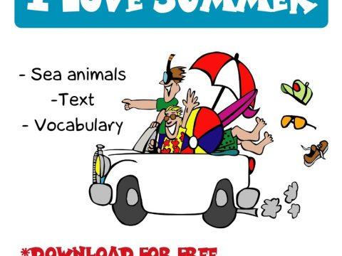 I love summer by Brainy