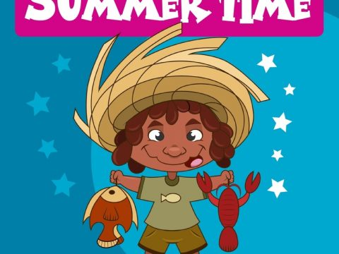 Summer Time Board Game by Brainy